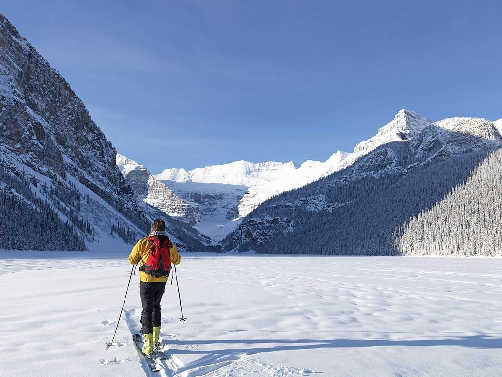 winter activities calgary skiing banff