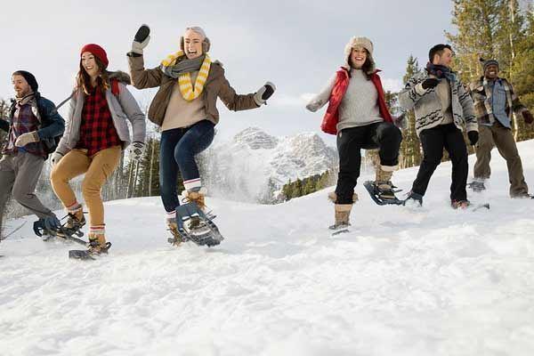 winter activities in calgary snowshoeing
